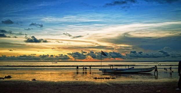 Pangandaran Beach Sunset 630x325