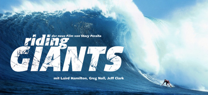 Surf RIDING Giants