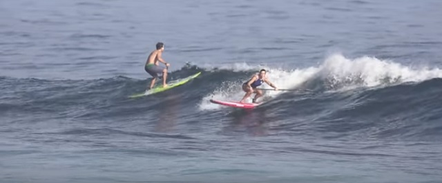 SUP Surfing 4