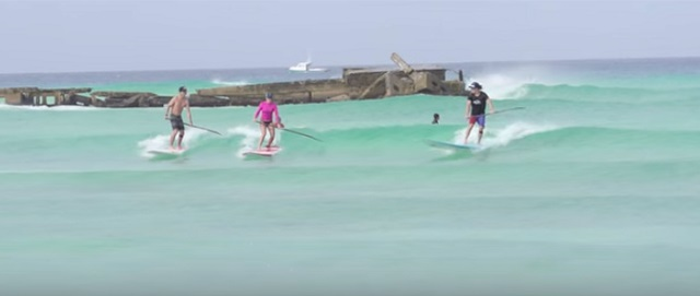 SUP Surfing 5