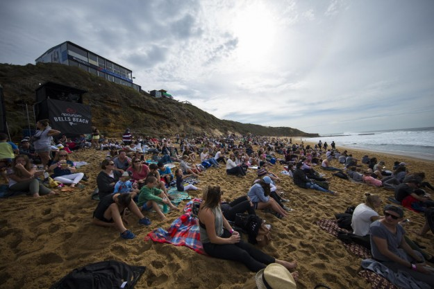 Crowds turned out Friday to see the women's finals at Bells.