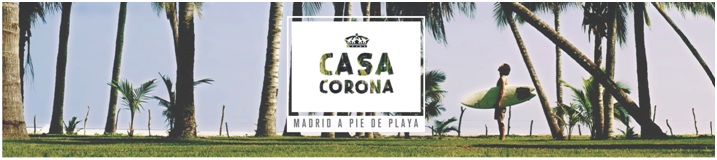 casa corona madrid a pie de playa