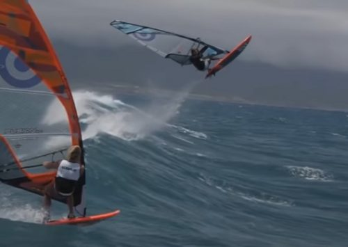 EXTREME WINDSURFING FREESTYLE