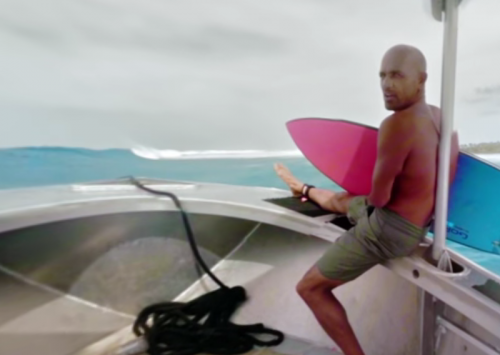 SURFEANDO CON KELLY SLATER