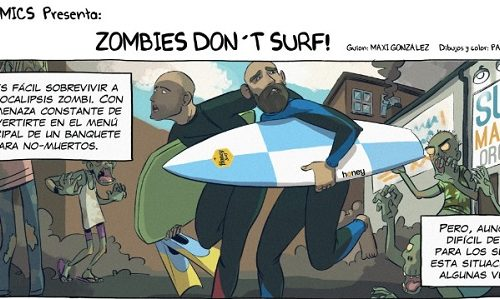 CÓMIC: ¡¡¡ ZOMBIES DON´T SURF!!!