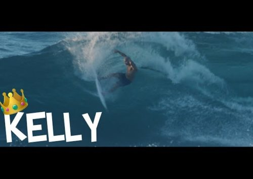 KELLY SLATER SURFING NORTH SHORE