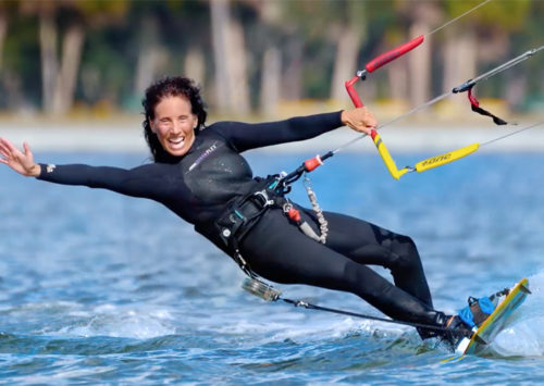 PROYECTO 65+: MUJERES KITEBOARDERS