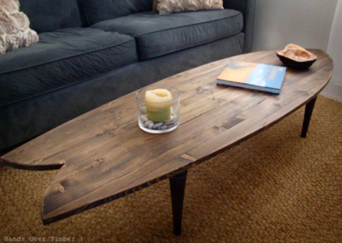 16 IDEAS DE DECORACIÓN CON TABLAS DE SURF