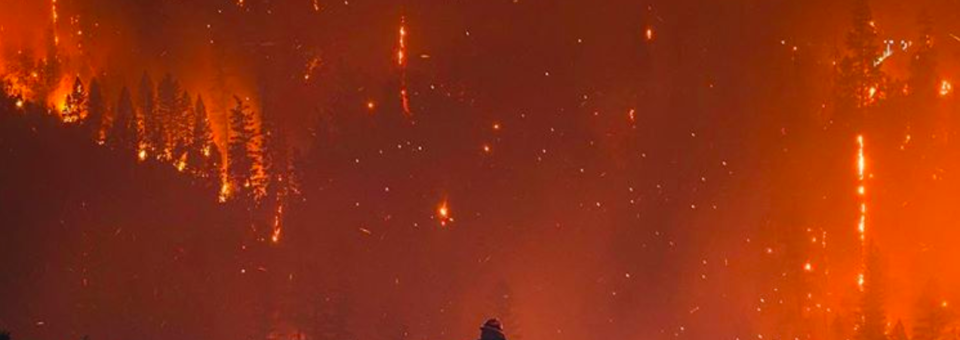 EL TERRIBLE INCENDIO DE CALIFORNIA