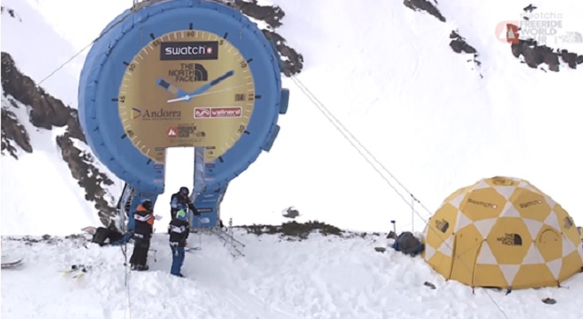 Freeride World Tour en Vallnord Ordino-Arcalis