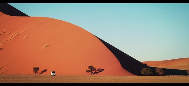 Lost in Namibia Damien Castera