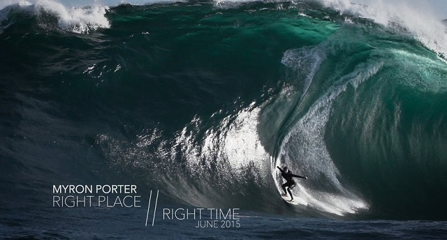 Right Place // Right Time - Myron Porter