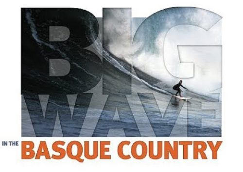 BIG WAVE IN THE BASQUE COUNTRY