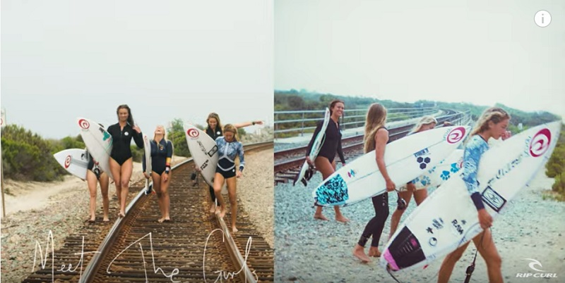 A day with the Rip Curl Women