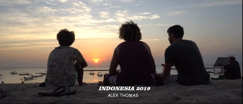 Surf en Indonesia Alex Thomas