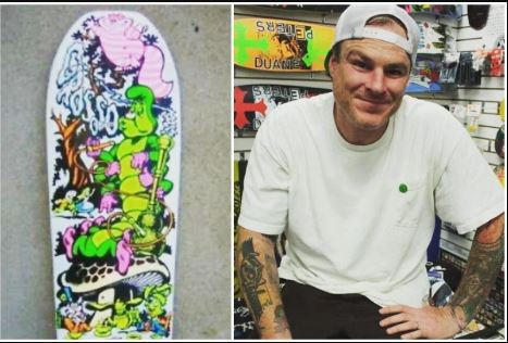Legendario skater Jeff Grosso