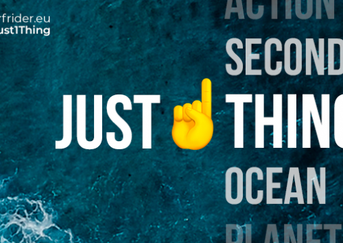 «JUST 1 THING»SURFRIDER EUROPE