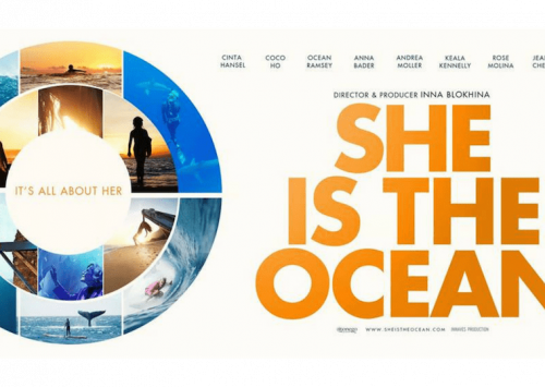 «SHE IS THE OCEAN»
